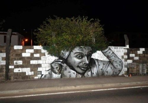 afro-wall