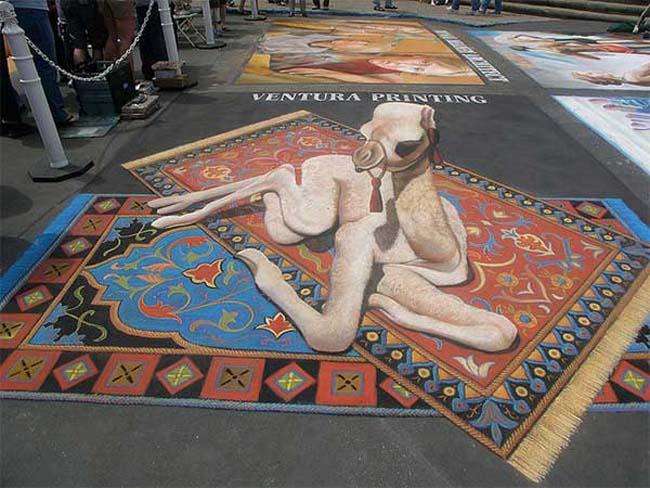 3D-Street-Painting-Desert-Baby-1