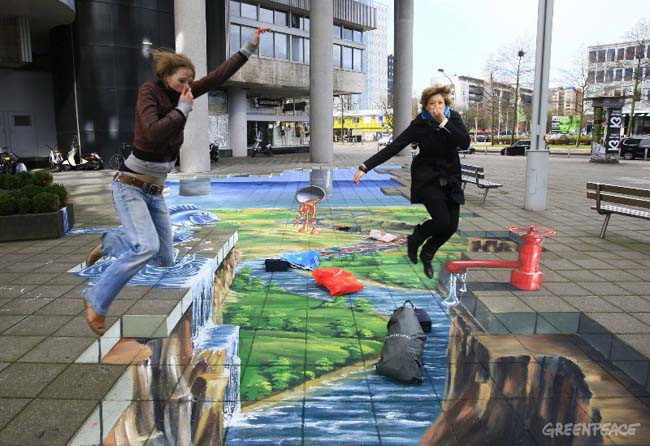 3D Artwork at World Fashion Centre in NL
