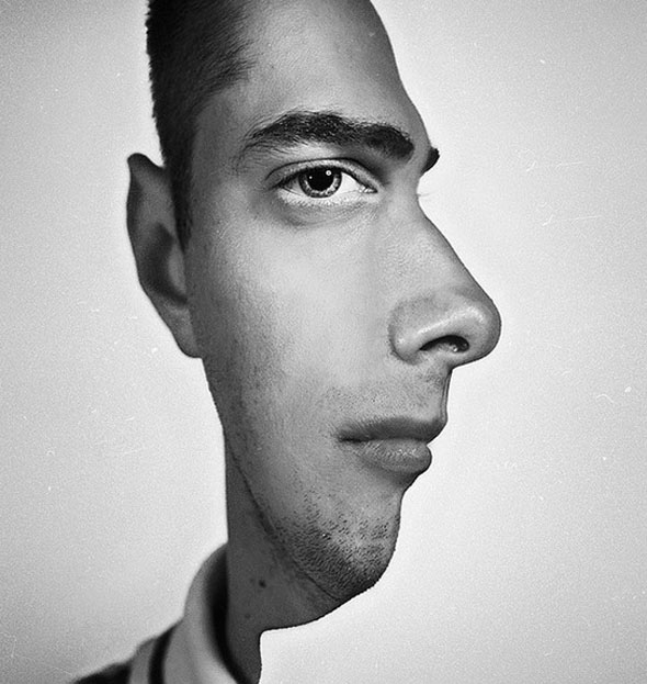 optical illusions face