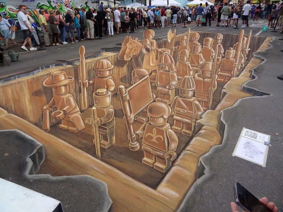 lego-chalk-art