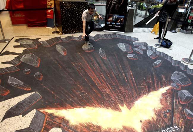 APTOPIX Australia Chalk Art