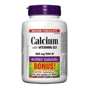 webber naturals calcium
