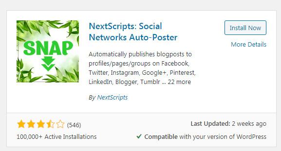 Social Media Automation Plugin for WordPress