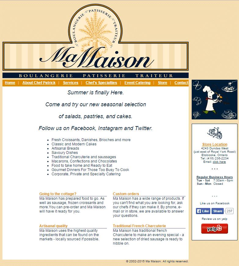 mamaison-restaurant-before