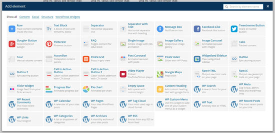 top-page-builder-plugins-wordpress-visual-composer