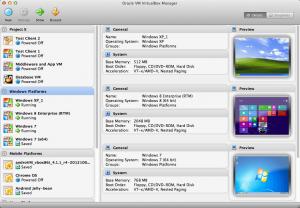 virtualbox internet explorer browser testing