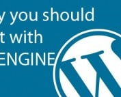 wordpress hosting with WPENGINE