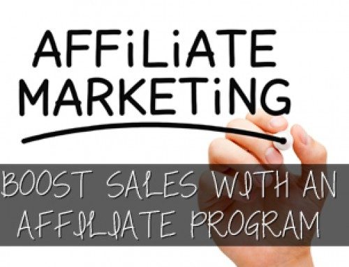 Boost Online Sales with an Affiliate Program!