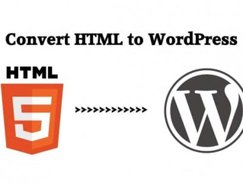 Converting an HTML website to WordPress