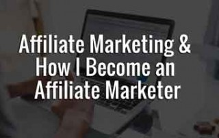 how i became an affiliate marketer
