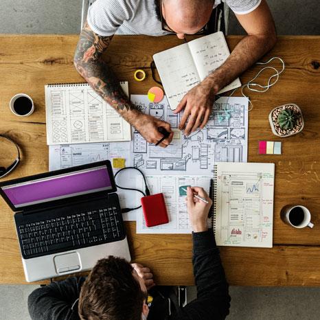 Team Planning Website Design