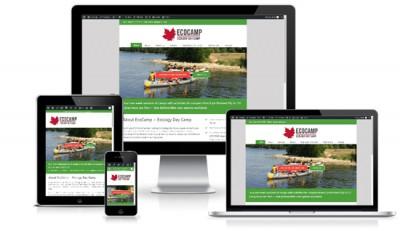 Camping WordPress Website