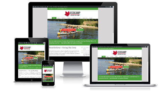 Camping WordPress Website