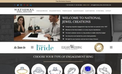 wordpress jewelry website