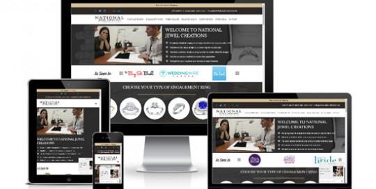 WordPress Jeweler Website