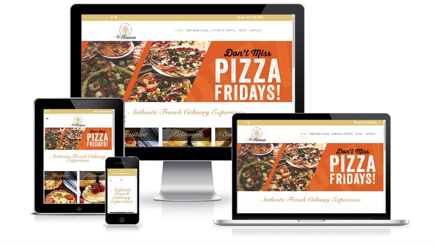Web Development For Ma Maison Restaurant