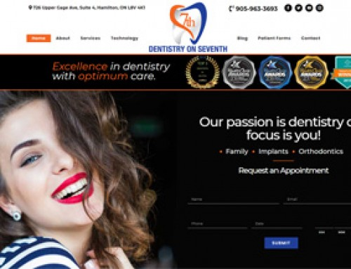 Website Revamp: Dentistry on 7th