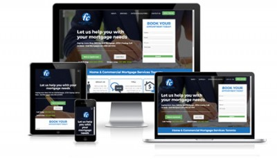 First Capital Corp Responsive Web Design
