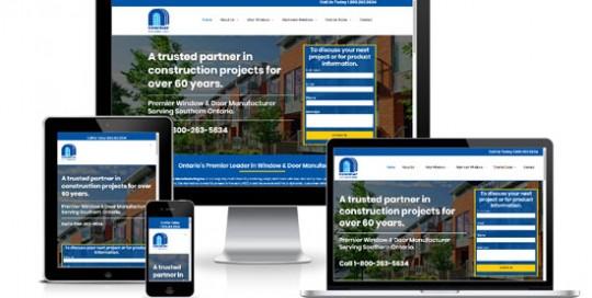 Newmar Windows WordPress Website