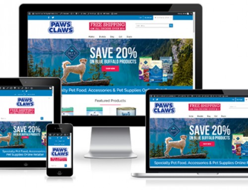 Paws & Claws Ecommerce Website