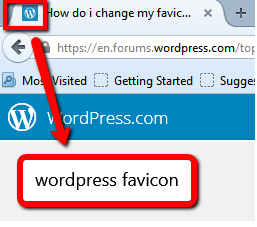 Favicon in Tab