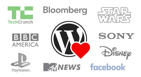 Brands using WordPress