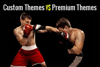 Custom WordPress Theme vs Customized WordPress Theme?