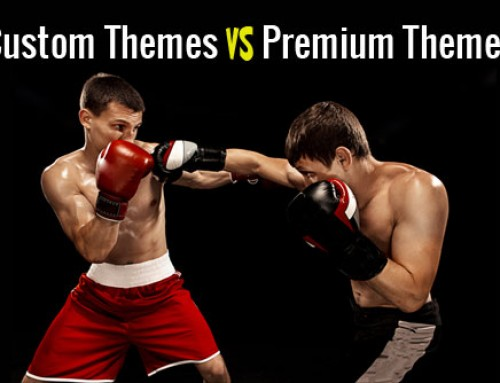 Custom WordPress Theme vs Customized WordPress Theme?
