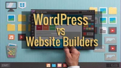 WordPress CMS vs Website Builders