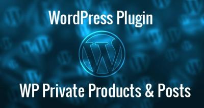 WordPress Private Products & Posts Plugin