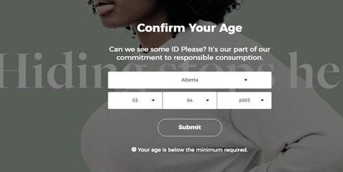 Canadian Age Gate Verification Plugin