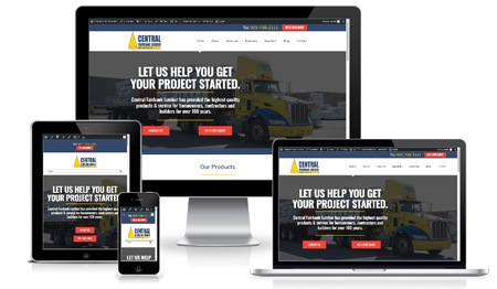 Central Fairbank Lumber website