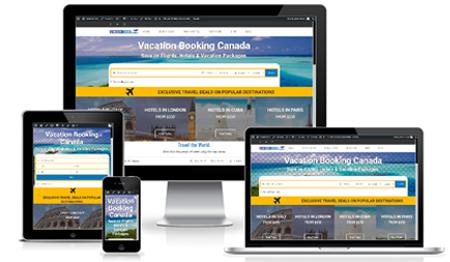 Vacation Book - WordPress Travel Website