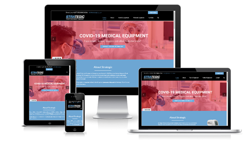 Medical Supplies, Tools & Equipment WordPress Website