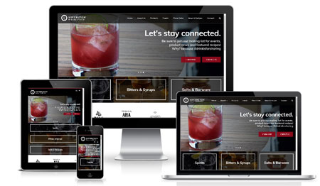 WordPress Website for Liquor Merchant